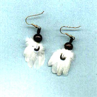 *NEW* Feather earrings!