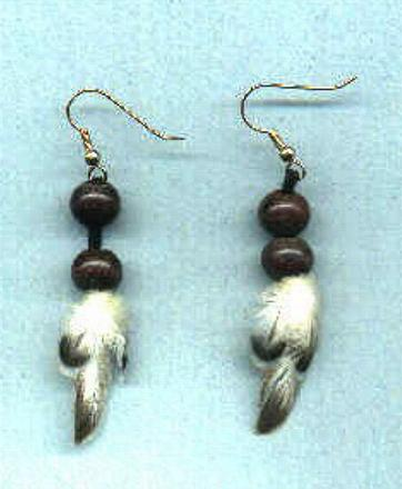 *NEW* Feather earrings #2!